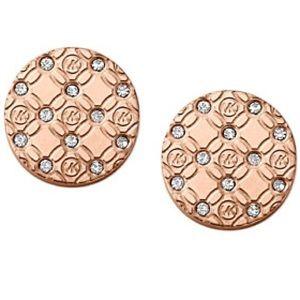 Michael Kors Monogram Stud Earrings