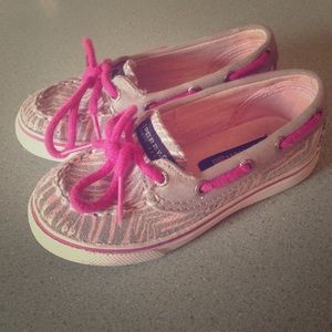 Sperry Top-Sider Shoes - Pre loved toddler sperry top sider
