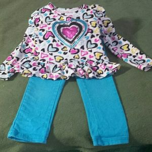 Other - Girls top & pants set
