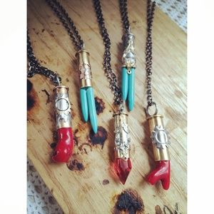 Bullet necklace your choice
