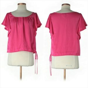 BCBGMaxAzria Tops - 3 for $45 Bag/ BCBGMaxAzria Pink Blouse