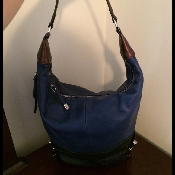 makowsky Bags - B. Makowsky Leather Hobo Bag