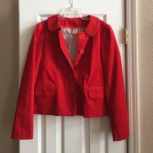 J. Crew Jackets & Blazers - J. Crew Red Jacket Size 2