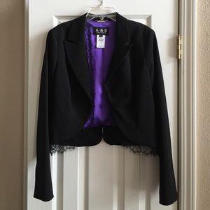 ABS Allen Schwartz Jackets & Blazers - ABS by Allen Schwartz Black Blazer Size 6