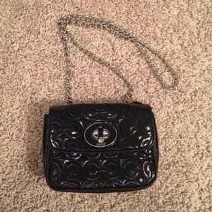 Coach Handbags - Coach patent leather small crossbody
