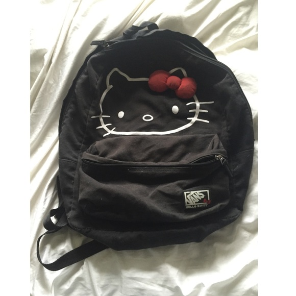 c7bbce3f77a6 Hello kitty vans backpack. M 54f38f9cf0137d2bec00baa3
