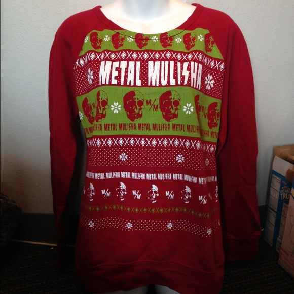 metal mulisha christmas sweater - Metal Christmas Sweaters