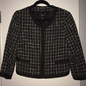 Tweed 3/4 blazer