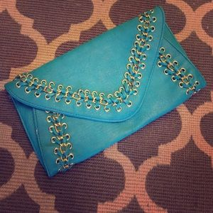 Clutches & Wallets - Turquoise clutch 😍