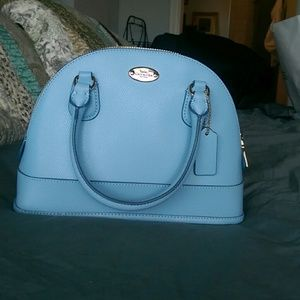 Coach domed mini satchel Cora Peyton
