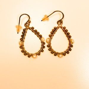Jewelry - Beautiful Earrings with faux pearls