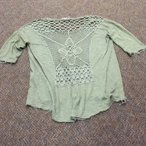Super Cute Knit Detailed Boho Chic Top