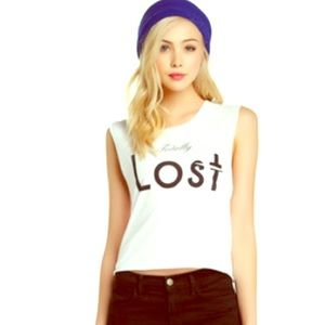 Wildfox Couture 'Lost' Tank Size XS