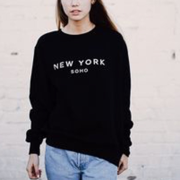 Brandy Melville New York Soho Sweater
