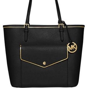 NEW Authentic Michael Kors Leather Large Tote
