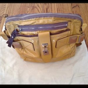 Chloe patent leather handbag