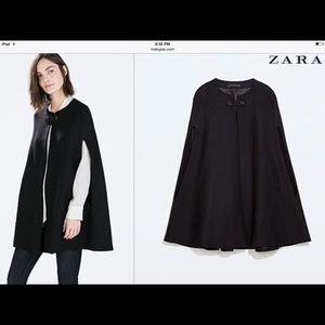 24 Off Zara Outerwear П��sale🎉 Zara White Cape Coat From