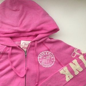 Victoria's Secret Sweaters - Victoria's Secret PINK Zip-Up Hoodie