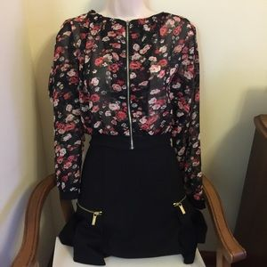 Tops - Cute Floral Jacket