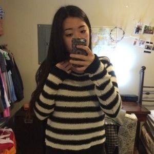 Stripe free people sweater