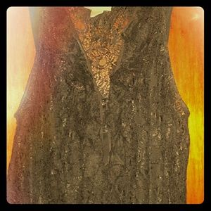 Kenar Tops - Top black lace with camisole