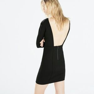 Zara Dresses & Skirts - Zara Open Black Dress