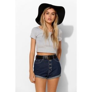 BDG Denim - [Urban Outfitters]BDG foxy exposed button short