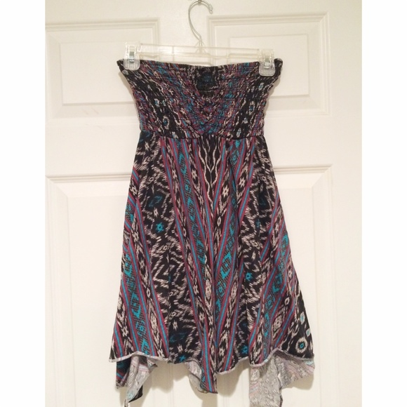 BILLABONG SING ALONG DRESS SLEEVELESS JUNIORS SUMMER BEACH BOHO SUNDRESS