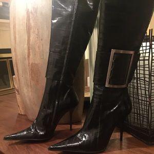 gianmarco lorenzi shoes sale eel skin boots poshmark rh poshmark com