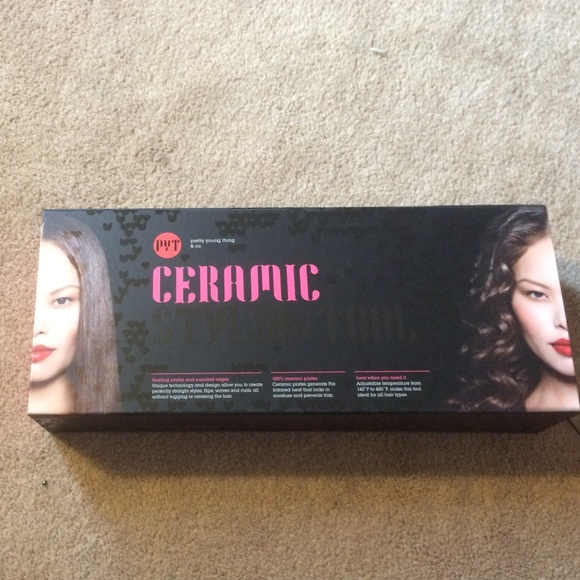 63 Off Pyt Other Pretty Young Thing Ceramic Flat Iron
