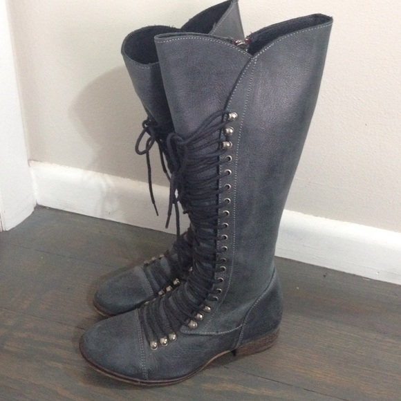 mientras tanto Diverso Tesauro  Steve Madden Shoes | Steve Madden Perrin Lace Up Boots | Poshmark