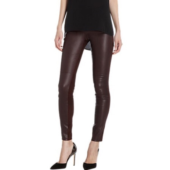 Vince Leather Leggings