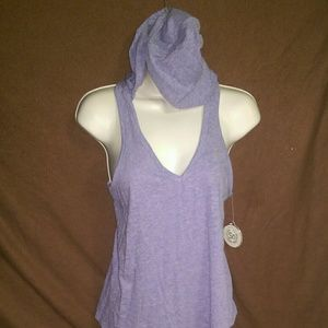 Purple Authentic American Heritage Skinny Tank