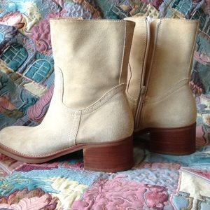 Nubuck  suede boots