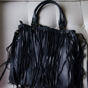 Oasis Tassel Fringe Shoulder Bag 28