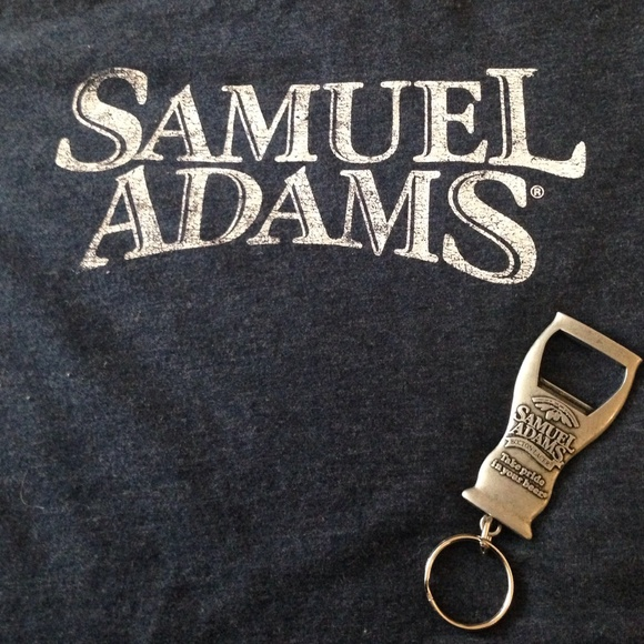 samuel adams samuel adams tee and bottle opener from lucy 39 s closet on. Black Bedroom Furniture Sets. Home Design Ideas