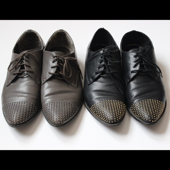 Dolce Vita Shoes - Dolce Vita Black & Grey Studded Oxfords Bundle