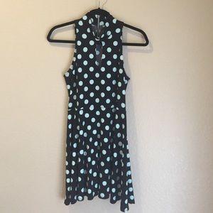 LF stores spring 2014 polka dot dress