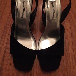 Shoes - Dressy Black Sandals!! NWOT!!