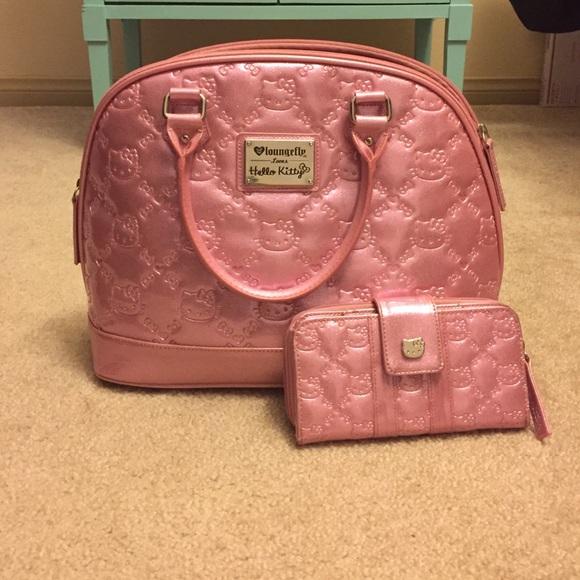 4b4e9f0f940 Hello Kitty Handbags - Hello Kitty Pink Glitter Tote- NWOT