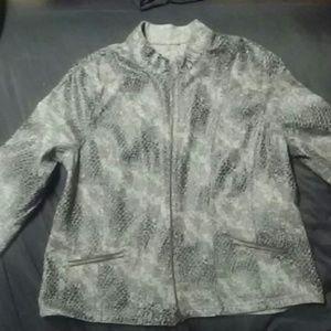 Vintage Snakeskin patterned blazer
