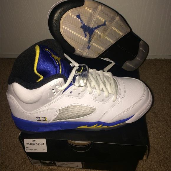 Air Jordan Retro 5 Laneys Size 4 Grade