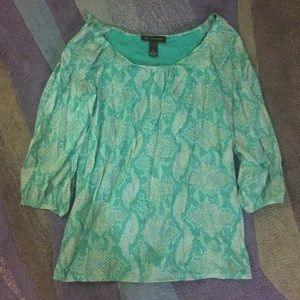 19 off tops fish scale shirt from joyce 39 s closet on for Fish scale shirt