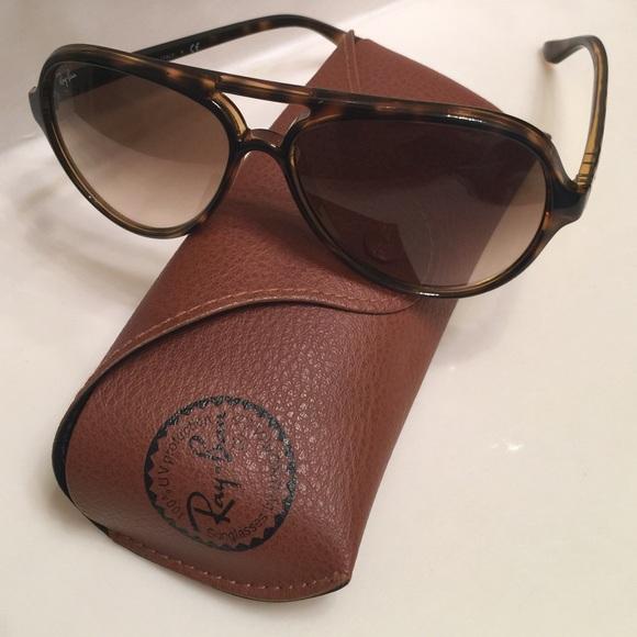 f9f6ccbb62 ☀ 👓Ray Ban Cats 5000 Sunglasses w Case ☀ . M 54f516f1c2845653e401b947