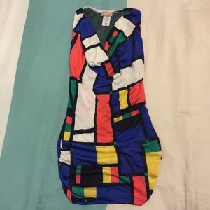 Color Blocking Party Top