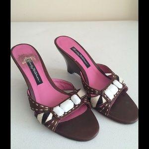Beverly Feldman Shoes - Size 6.5 Beverly Feldman Wedge Sandals