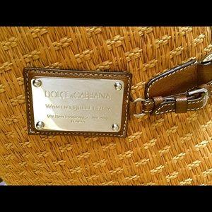 51e372216344 Dolce   Gabbana Bags - DOLCE   GABBANA RAFIA STRAW TOTE BEACH BAG