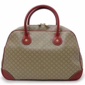Authentic Celine Macadam Leather Handbag