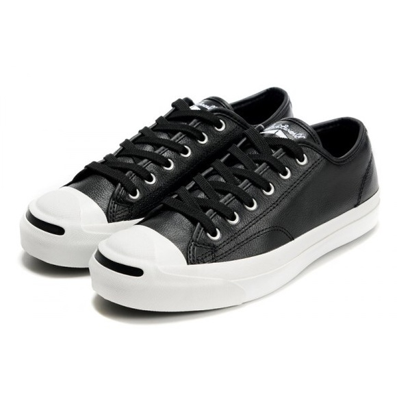 1e53f505cfc Converse Shoes - Jack Purcell tumbled Leather low top