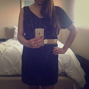 Isabel Lu Dresses & Skirts - black and gold dress